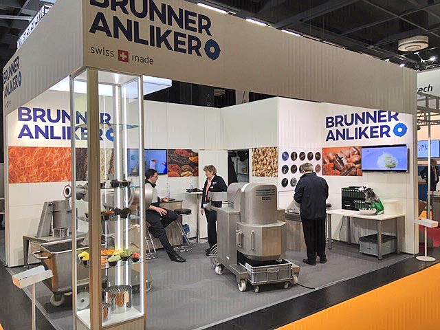 Messestand unseres Partners Brunner-Anliker AG auf der ProSweets 2019