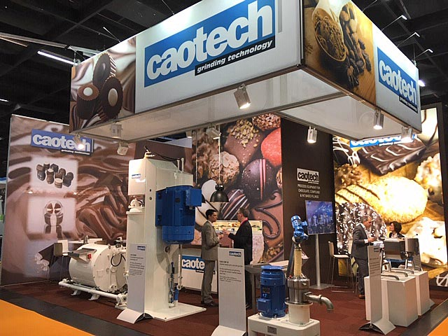 Messestand unseres Partners Caotech auf der ProSweets 2019